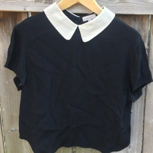 Sunday Best black lightweight blouse - size M